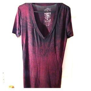 Black & red Rebel Saints shirt